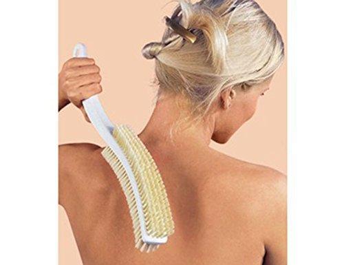 Massagebürste mit Naturhaarborsten