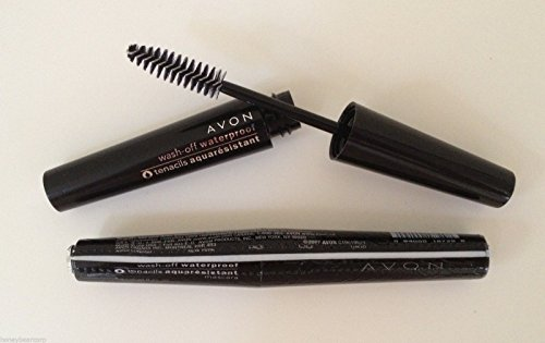 Avon Wash-Off Waterproof Mascara -Black