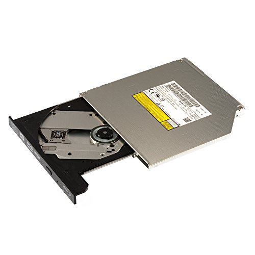 Panasonic interner Sata Blu-ray Brenner BD-MLT UJ272 (9,5 mm hoch) (mit Blende schwarz), Ultra Slim, für CD, DVD und Blueray