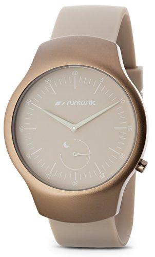 Runtastic Moment FUN Uhr & Aktivitätstracker (mit Silikonband) Sand Beige