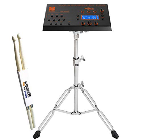 2Box DrumIt Five MKII - Modulo audio per batteria elettronica, con supporto Roland PDS-10 e bacchette keepdrum, 1 paio
