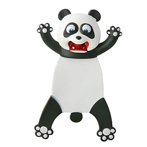 Mjartoria - Segnalibri divertenti in plastica per feste di compleanno, per bambini, ragazzi, ragazze, studenti, adolescenti, panda bianca, /