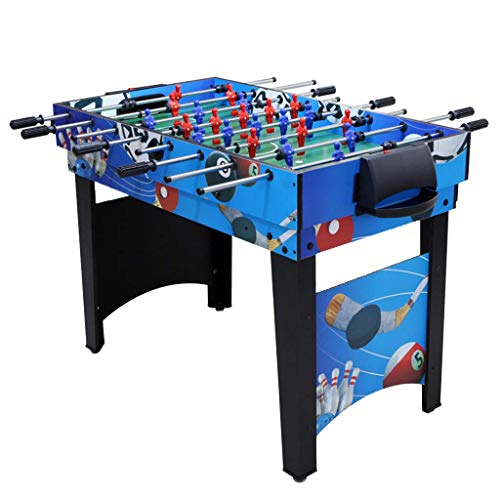 YIHGJJYP Combo Game Table Soccer Indoor Billiard Machine Multi-Functional Adult Soccer Table Tennis Toy Children's Educational Toys Multi-Player Sports Best Gift