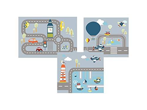FLEXA Transportation Vorhang für Hochbett Höhe 77cm 83-20235