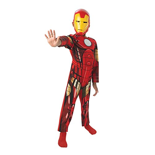 Rubie's-déguisement officiel - Marvel- Costume Iron Man Avengers Assemble -Taille M- CS887750/M