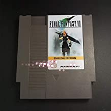 Final Fantasy VII English Edition For NES Save File - Top 72 pins 8bit game cartridge - , Games for NES , Game Cartridge 8 Bit SNES , cartridge snes , cartridge super