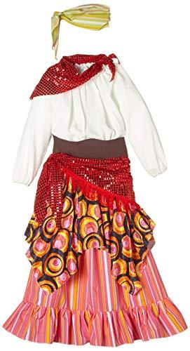 disfraz prime Disfraz zingara Esmeralda, Multicolor, estandar (limitsport 8421796409334)