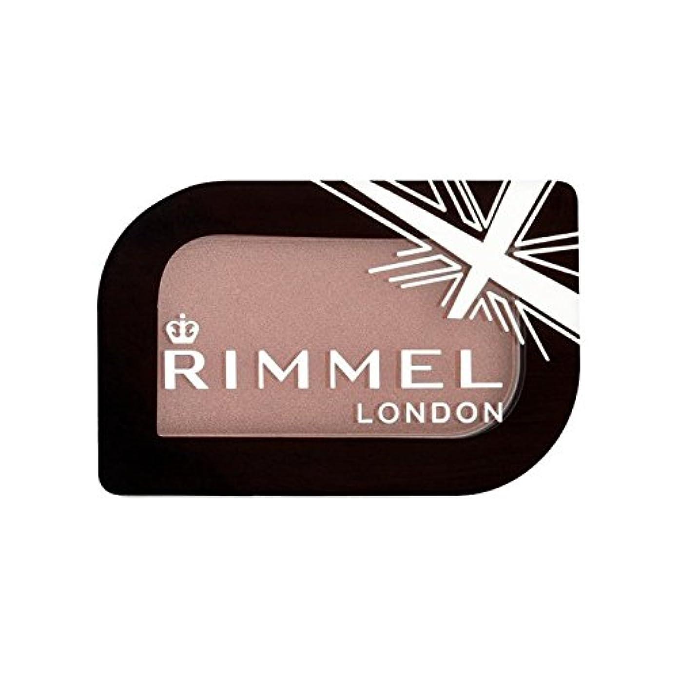 五月経験者並外れてリンメルロンドン'モノアイシャドウの富豪の5.2グラム x4 - Rimmel London Glam'eyes Mono Eyeshadow Millionaire 5.2g (Pack of 4) [並行輸入品]