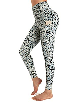 STYLEWORD Womens Yoga Pants with Pockets High Waist Workout Leggings Running Pants
