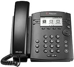 Polycom VVX 311 Corded Business Media Phone System - 6 Line PoE - 2200-48350-025 - Replaces VVX 310 (Renewed)