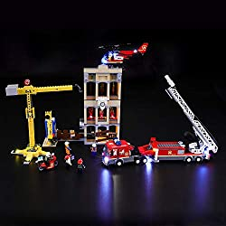 Designed for Lego 60216,with this light kit, you can bring your LEGO City Downtown Fire Brigade from dark to bright, make it come to life. Please note that only LED light set. All LEGO sets showed in images and videos are not included. Package contai...