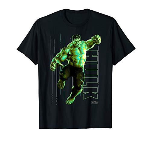 Marvel Infinity War Incredible Hulk Jump Smash T-Shirt