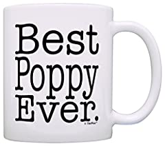 A great birthday gift or Father's Day Gift for Grandpa. This 11 ounce white ceramic coffee mug also makes a great tea cup with its large, easy to grip C-handle. The imprinted design will display on both sides of the mug as pictured, and will stop app...