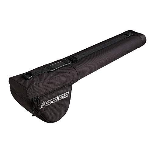 Sage Luggage Ballistic Rod/Reel Case Double 10-Foot 4pc Rod 2x2, Black