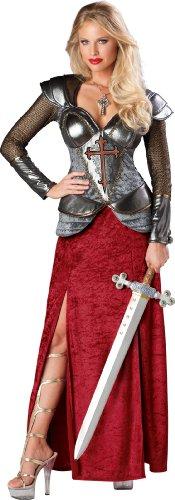 In Character Costumes Disfraz de Juana de Arco guerrera para Mujer