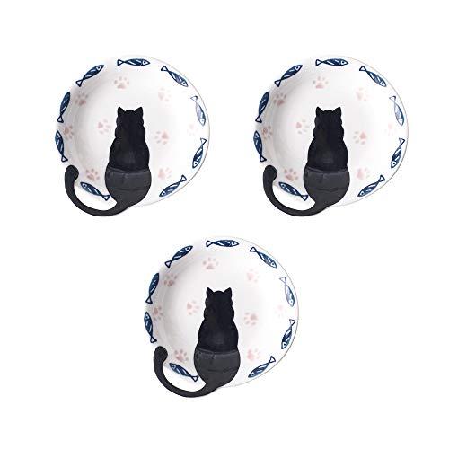Meow Porcelain Set ceramica per gatti super carino (Nuovi piatti)