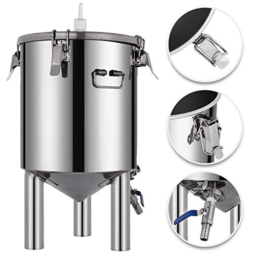 Brew Bucket Fermentor 304SS Conical Fermenter
