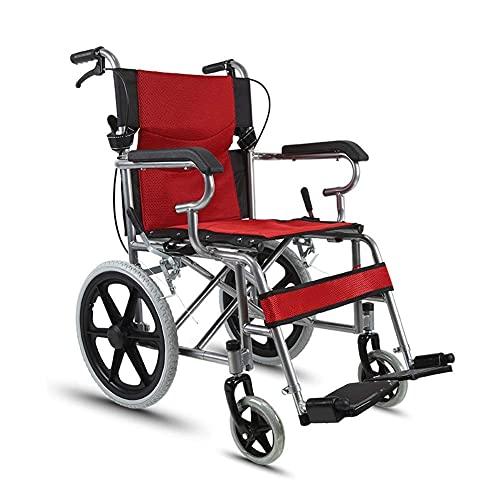 N&O Renovation House Chair WheelFold Light Elderly Inflatable Aluminum Alloy Disabled Car Heavy/T / 3