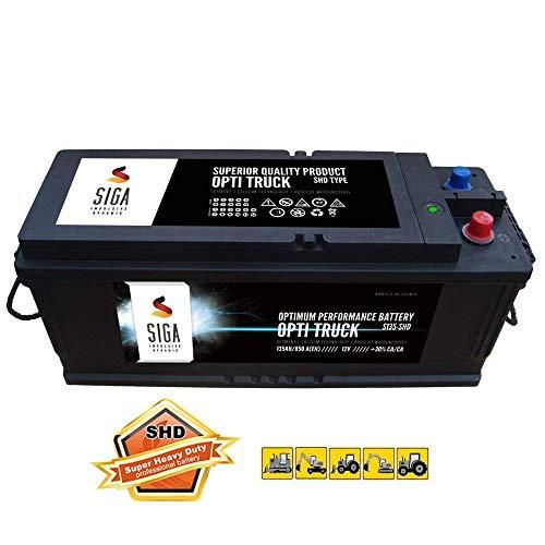 SIGA LKW Batterie 135Ah Starterbatterie Schlepper Traktor Trecker Bagger Frontlader