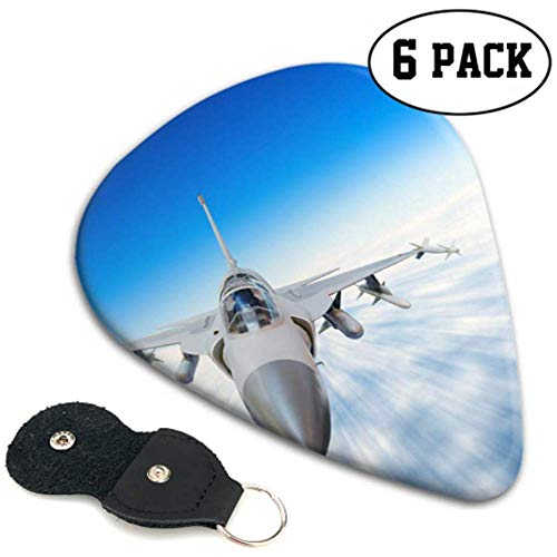 Aircraft Fighter Jets Disfraz Guitar Picks Quality Guitar Picks 6 Pack Heavy...