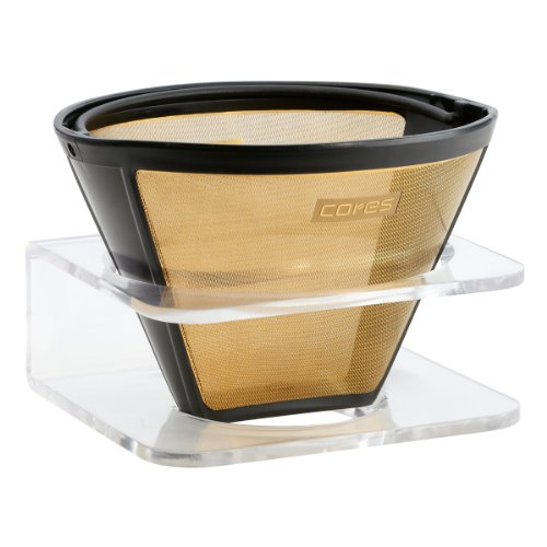 cores (CK) Gold coffee filters for 1-10 cup for C280 (japan import)