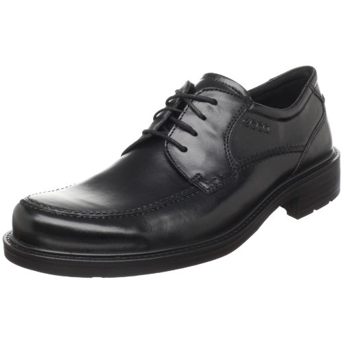 Big Sale ECCO Men's Boston Lace-Up,Black,44 EU/10-10.5 M US