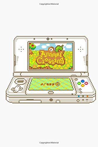 Animal Crossing 3Ds Notebook: (110 Pages, Lined, 6 x 9)
