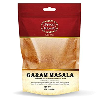garam masala, End of 'Related searches' list