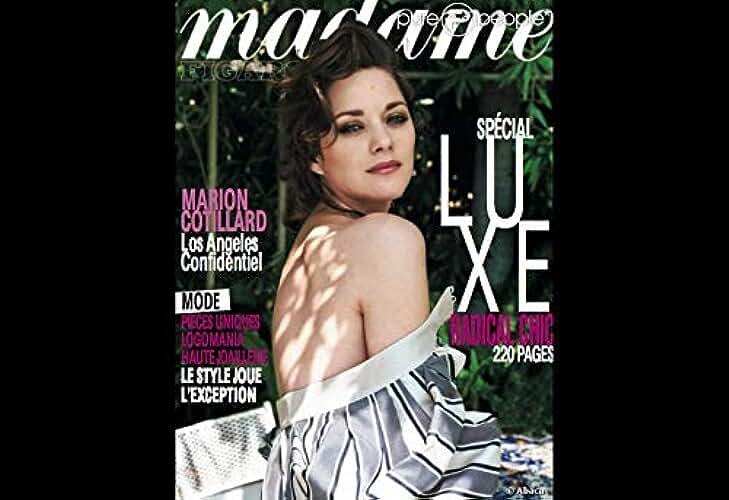 MADAME FIGARO du 05-11-2011 - 20920 - MARION COTILLARD