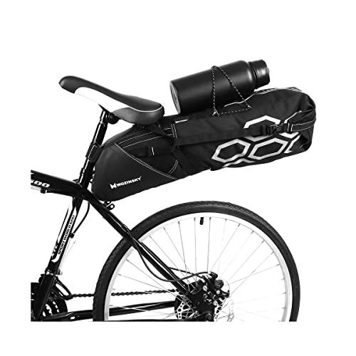 WOZINSKY Satteltasche Fahrradtasche Wasserdicht Reisetasche Tasche für Fahrrad, Mountainbike, ebike, MTB, Rennrad Bike Bag Fahrradtasche Sattel Fahrradsatteltasche 12 L