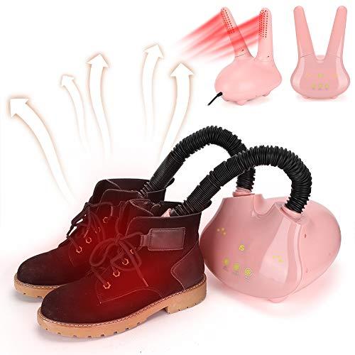 Calentador de Botas, Limpieza de ozono Calentador de Zapatos de Temperatura Constante Encantador, Botones táctiles Inteligentes para secar desodorización(European regulations)