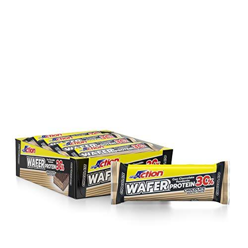 ProAction Wafer Protein (cioccolato, confezione da 12 pezzi da 40 g)