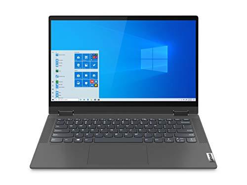 Lenovo Flex 14' FHD 2-in-1 IPS Touchscreen Laptop | AMD Ryzen 3 4300U | 4GB RAM | 512GB SSD | Integrated AMD Radeon Graphics | Grey | Windows 10 in S Mode | with Woov Accessory Bundle
