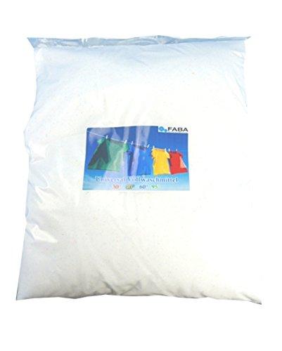 FABA Waschpulver Vollwaschmittel für weiße und bunte Wäsche 27kg im Karton