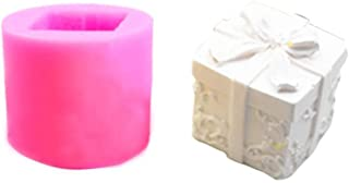 Box Candle Mould Aroma Candle Gypsum Mold for DIY Soap Silicone Mold Making Home Christmas Tree Party Decor (Random Color)