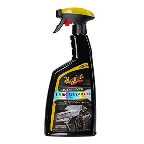 MEGUIAR'S G201024 Ultimate Quik Detailer, 24 Fluid Ounces