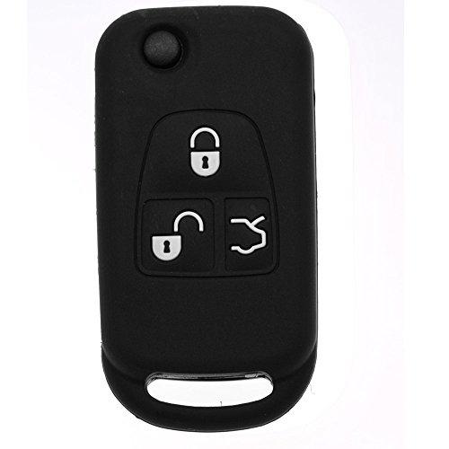 Soft Case Funda Protectora Llave del Coche Mercedes Benz SL R129 W163 ML 1998-2005 Clase E W210 / Color Negro