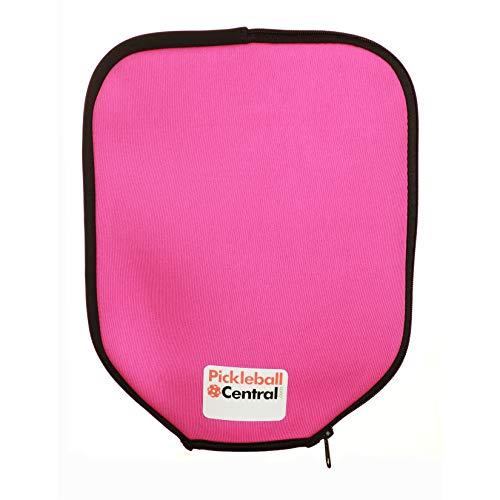 PickleballCentral Neoprene Pickleball Paddle Cover (Pink)