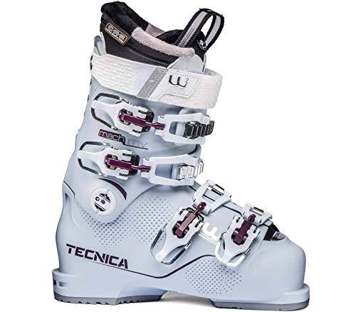 Moon Boot Tecnica Mach1 MV Femmes Bottes Ski Bleu 25,5
