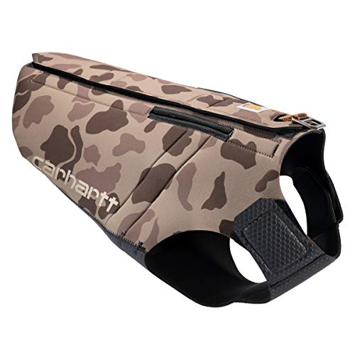 Carhartt Pet Vests, Neoprene Vest, XL, CH Duck Camo Reed