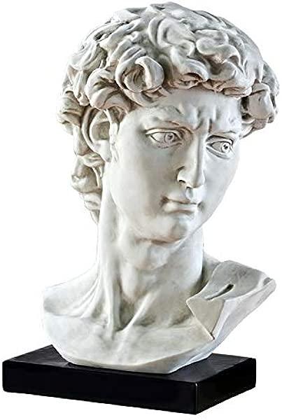 设计米开朗基罗大卫雕像的托斯卡诺半身像