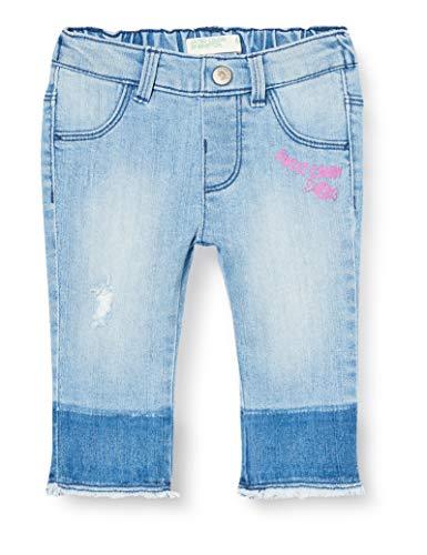 United Colors of Benetton Jeans Pantalones, Turquesa (Azu 901), 80/86 (Talla del Fabricante: 82) para Bebés