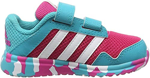 adidas Performance Unisex Baby Snice 4 Sneaker, Mehrfarbig (EQT Pink S16/Ftwr White/Shock Green S16), 22 EU