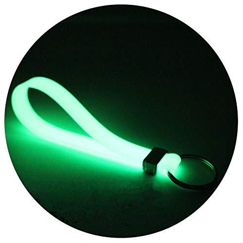 Schlüsselanhänger Keytag Silikon von Finest-Folia (Nachtleuchtend)