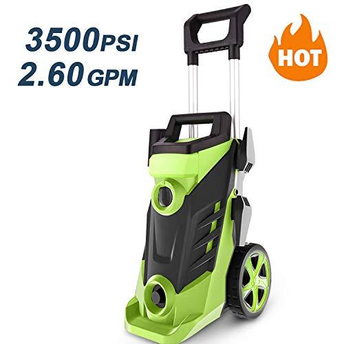 Homdox 3500 PSI Pressure Washer, Power Washer, 2.6GPM High Pressure Washer, Professional Washer...