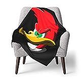 Hdadwy Woody Woodpecker - Manta para niños pequeños, mantas súper suaves para bebés, cómoda cuna, edredón liviano, mantas transpirables para niños y niñas de 30 x 40 pulgadas