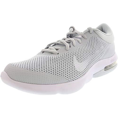 Nike Men's Air Max Advantage Pure Platinum/White Wolf Grey Ankle-High Running - 11.5M