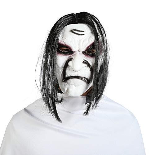 Clown Maske des Grauens Aus Latex Erwachsenen Horror-Clown Kostüm Maske Fur Maskerade Parteien Karneval Ostern Halloween