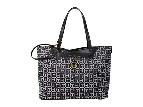 Tommy Hilfiger Adamaria Shopper Black/White One Size