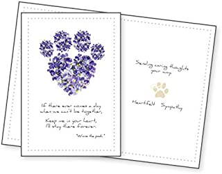 Dog Speak Sympathy Card - If there ever comes a day...